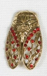 Broche cigale.1